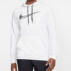 Men's Nike dri fit pullover training hoodie